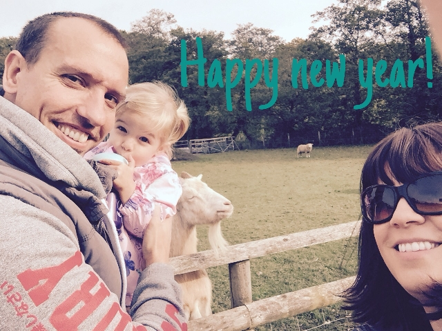 Happy 2016 from Team Wales (and random smug goat) xx